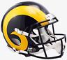 LOS ANGELES RAMS NFL Riddell SPEED Full Size AUTHENTIC Football Helmet