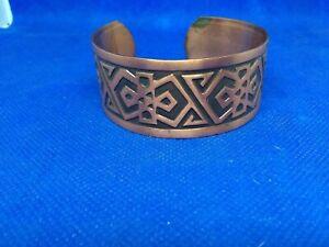 South Western Style Copper Bracelet