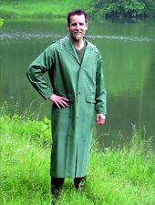 Paladin PVC-Regen-Mantel Gr. L Jacke Anzug mit Taschen auch in XXL Poncho grün