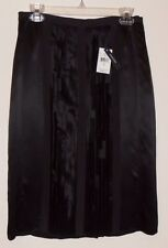 Magaschoni collection Black Silk skirt  US size 8