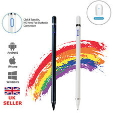 More details for digital active stylus pen pencil fine point for ios android ipad touch screen uk