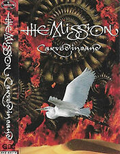 The Mission ‎Carved In Sand CASSETTE ALBUM Goth Rock 10 TRKS Mercury ‎ 842 251-4