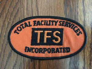 Vintage Total Facility Services Orange Patch TFS Inc. Construction Security Work
