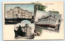 *Johannesburg South Africa Marlborough House Telephone Exchange Postcard A26