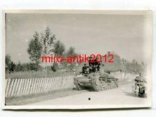 Foto, Wehrmacht, Panzer, 1. Leichte Panzerdivision, Kozienice, Polen