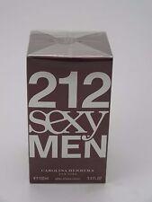 CAROLINA HERRERA 212 SEXY MEN 100ML AFTER SHAVE LOTION SPLASH ON