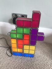 LED Tetris Block Night Light Decor Fashion Colorful Stackable