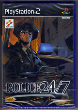 PS2 Police 24/7 (2002), French Version, UK Pal, Brand New & Sony Factory Sealed