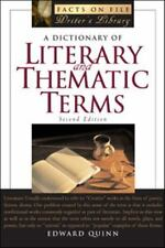 A Dictionary of Literary And Thematic Terms (Writers Library)-ExLibrary
