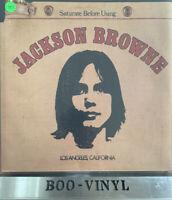 JACKSON BROWNE ~Saturate Before Using Vinyl LP 1972 UK A1/B1 Press K 53022 EX