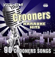Vocal-Star Karaoke Crooners  Swing Hits CDG CDG Disc Set - 90 Songs on 4 Discs
