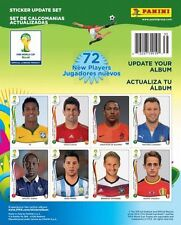 2014 Panini World Cup Stickers COMPLETE 72 PACK UPDATE SERIES LIMITED