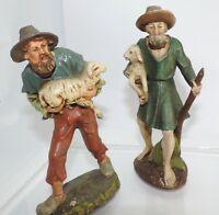 Marolin und Berkalith Figuren von der Firma Papiermache