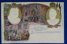 """ZUR ERINNERUNG AN DIE 200 JAHRIGE Kronung Friedrich III no viagg """"900 f/p #21961"""