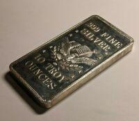 APM American Precious Metals - 10 Troy ounce oz Silver Bar .999 Fine