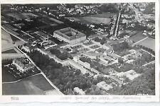 19370 HAHN Foto AK Luftbild Wermsdorf mit Schloss 1945 EF OPD DRESDEN 6 Pfennig