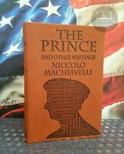 NEW The Prince & Other Writings - Niccolo Machiavelli Faux Leather Word Cloud Ed