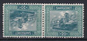 Saargebiet 1921 Kehrdruck  Michel Nr. 55 II oder 55 III Ungebraucht