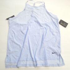 87905f14829ba7 Nike Women Tank Top Plus Shirt - AH9092 - Light Blue 415 - Size 2X -