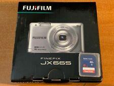 FUJiFILM FinePix JX665 Digital Camera - Blue