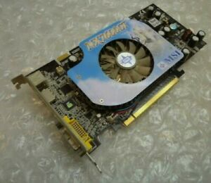 Genuine 256MB MSI NX7600GT Diamond Plus PCIe DVI / HDMI Graphics Card