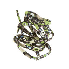 Liberty of London Green Print 4mm Ribbon Cord Pick and Mix 1 Metre (H56/7)