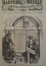 President Grant Louisiana Wheeler Compromise Civil Rights 1875 Harper's Weekly