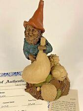 Johann 1984 Tom Clark Gnome Signed Figurine 1075 Coa Story Shells Coin 25