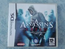 ASSASSIN'S CREED 1 ALTAIR'S CHRONICLES NINTENDO DS 3DS 2DS PAL ITALIANO COMPLETO