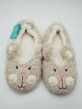 Monsoon Girls Bunny Slippers Size 2-3 New.