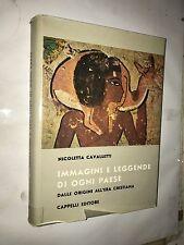 *** CAVALLETTI - IMMAGINI E LEGGENDE DI OGNI PAESE - CAPPELLI, 1960