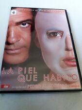 """DVD """"LA PIEL QUE HABITO"""" COMO NUEVO PEDRO ALMODOVAR ANTONIO BANDERAS ELENA ANAYA"""