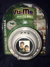 New in Box Vu-Me Photo Golf Ball Digital Photo Frame Senario USB 1.1 Included