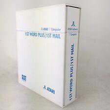 Atari ST Mega computer - 1st word Plus / 1st Mail - Software - RARE / Complete