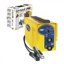 Gys Gysmi 200P 200A 230V E-Hand Electrodes Welding Machine Inverter Mma + Case