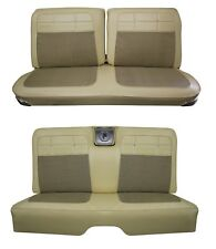 1962 Impala Coupe Front & Rear Bench Seat Upholstery in Your Choice of Color