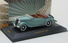 Salmson S4E ( 1938 ) grau-blau / IXO Museum 1:43