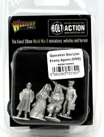 Bolt Action 403010002 Operation Sea Lion Enemy Agents (WWII) Spies Operatives