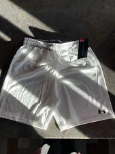 Boys Under Armour Size 14 White Shorts