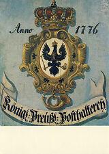 AK: Posthausschild Preußen 1776 (1)