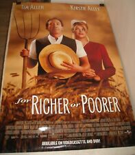 ROLLED 1997 FOR RICHER or POORER VIDEO 1 SHEET MOVIE POSTER TIM ALLEN KIRSTIE