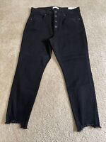 Ann Taylor LOFT Double Frayed Girlfriend Chinos Pants Various Sizes Blush Mist