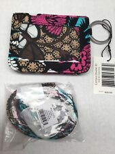 Vera Bradley CAMPUS DOUBLE  ID CASE and LANYARD in CANYON ROAD   - Retired  NWT