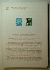 1963  ITALIA  Bollettino Postale N° 101 Giochi Del Mediterraneo