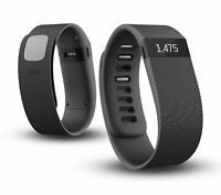 New Fitbit Charge Wristband Wireless Activity Slate, black L - without box