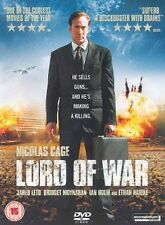 EPIC = LORD OF WAR star NICOLAS CAGE = 2 DISC EDITION = VGC = CERT 15