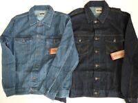 Men's Wrangler Cowboy Cut Denim Jacket - Inside Pockets - Lightweight