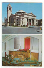 First Methodist Church Fort Dodge Iowa 1960s postcard