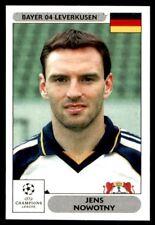 Panini Champions League 2000/2001 - Jens Nowotny Bayer 04 Leverkusen No. 43