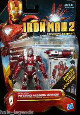 Marvel IRON MAN 2 Concept Series. INFERNO MISSION ARMOR. No.13 New! Avengers